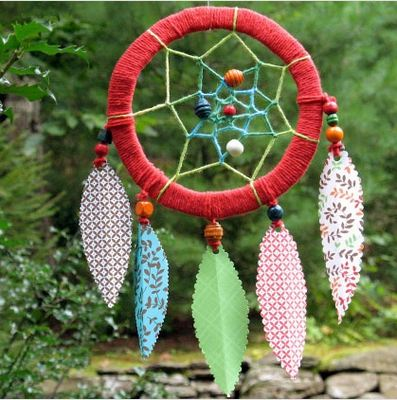 paper-feather-dreamcatcher-craft