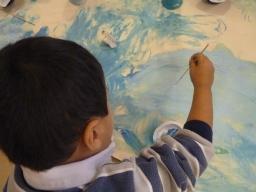 pintando fondo del mar