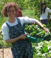 Silvia Balado y su más fiel compañera: su sonrisa