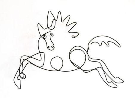 picasso caballo